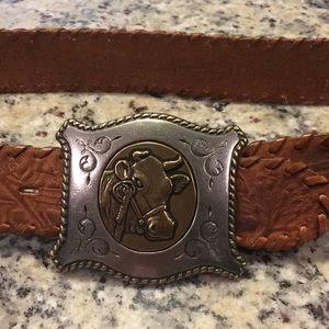 Vintage Gap brown leather belt